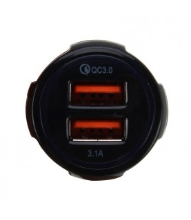 Chargeur voiture 2x USB 12V...