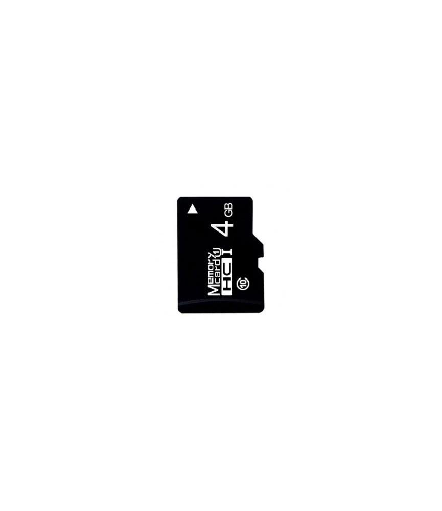 Carte Memoire Micro Sd Classe 10 De 4 Go