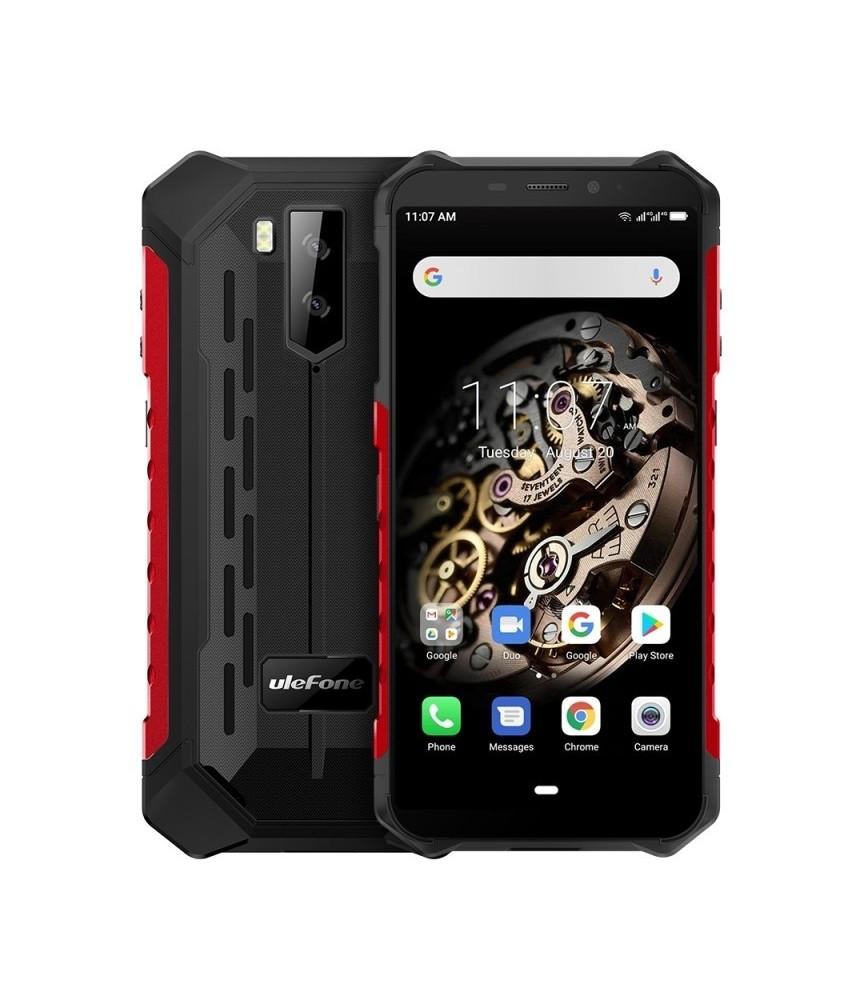 Téléphone renforcé Ulefone Armor X5 Rouge