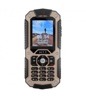Téléphone mobile solide MTT PROTECTION Crème