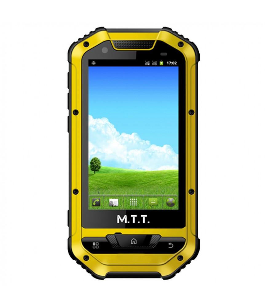 Mobile étanche MTT SMART MULTIMEDIA Jaune