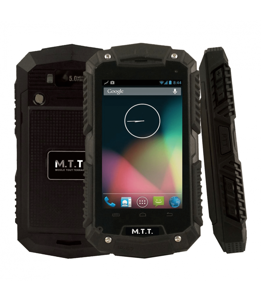 Téléphone étanche MTT SMART ROBUST Noir