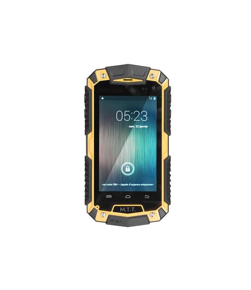 Smartphone robuste MTT SMART ROBUST Jaune