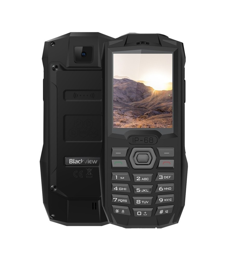 Téléphone portable solide Blackview BV1000 Noir