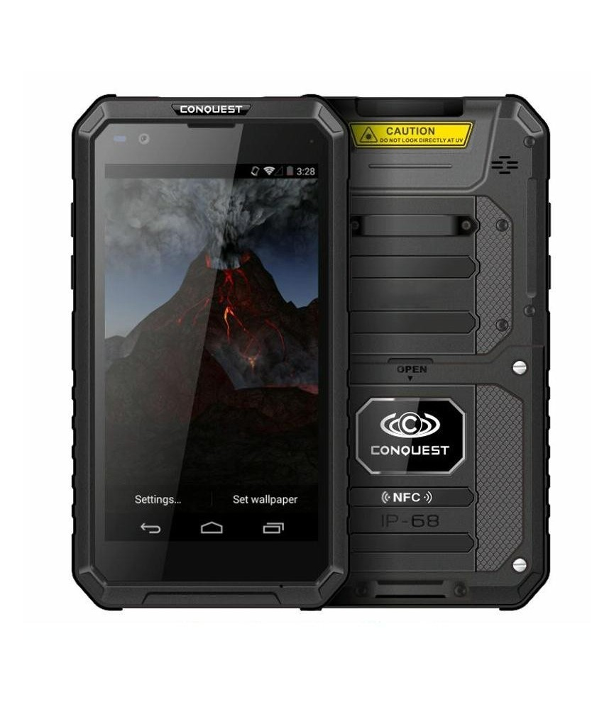 Smartphone increvable CONQUEST S10